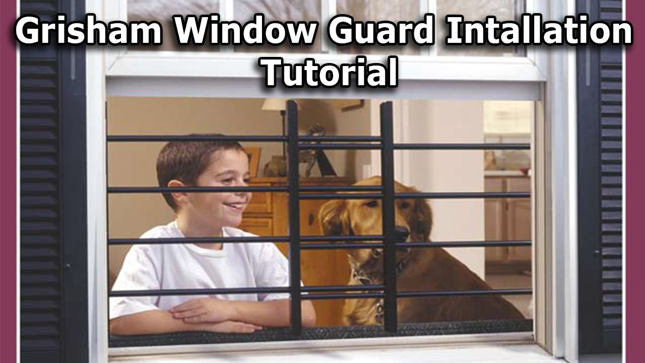 Grisham Pivoting Window Guard Installation Tutorial YouTube
