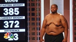 The First Weigh-in and Trainer Save - The Biggest Loser Highlight