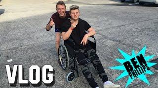 Ben Phillips   VLOG - I just snapped my leg!!!