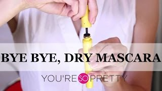 Beauty Hacks | Fixing Dry Mascara | Makeup Tutorial Thumbnail