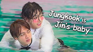 Jungkook is Jin's baby (JinKook)
