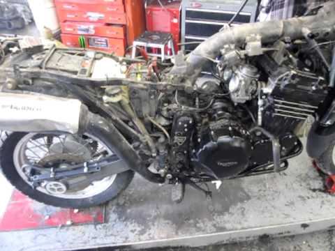 1995 Triumph Tiger 900 Steamer Motor And Parts For Sale On Ebay