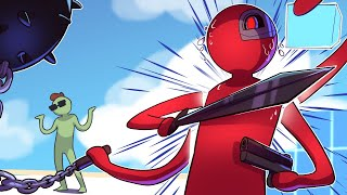 Stick Fight, Except 3D and Terroriser Is Actually Good - Super Smash Funny Moments