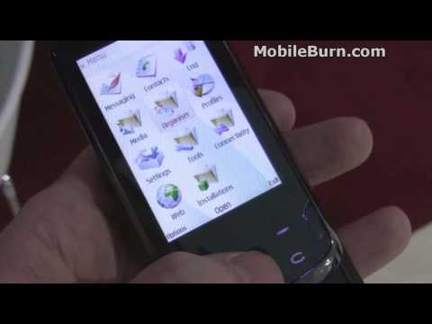 LG KT770 S60 smartphone demo from MWC09