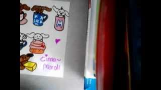 How to draw Cinnamoroll and friends in sweets, and mugs