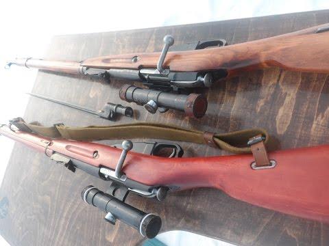 Снайперская Трёхлинейка, винтовка Мосина// Исчё одна..!!)