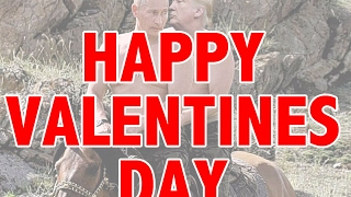 Trump sends Putin Valentines Day love song (feat Kanye)