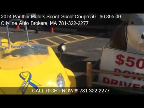 2014 Panther Motors Scoot Scoot Coupe 50 49cc for sale in M