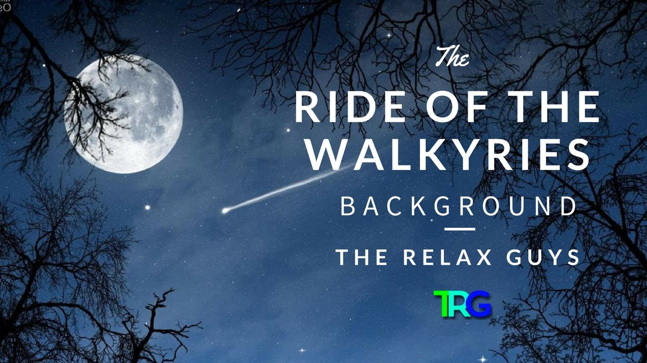 Richard Wagner - Ride of the Walkyries - Classical Music with Audio Spectrum Background ♫ 62
