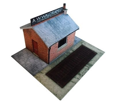 Coal Merchants Office & Weighbridge Kit – OO Scale by ModelRailwayScenery.com