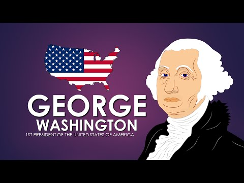 George Washington Biography (History for Kids) Educational Videos for Students Cartoon Network