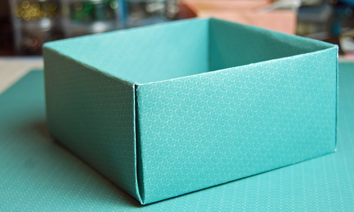 How To Make A Cute Box With Paper Diy Paper Box For