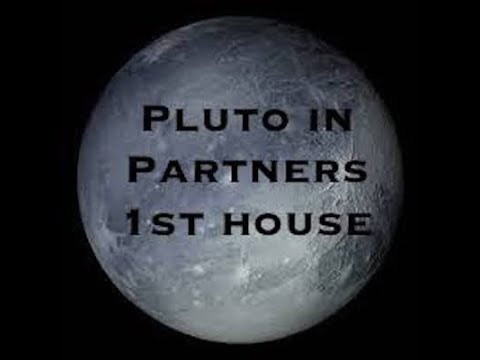 Synastry Pluto in the 1st house