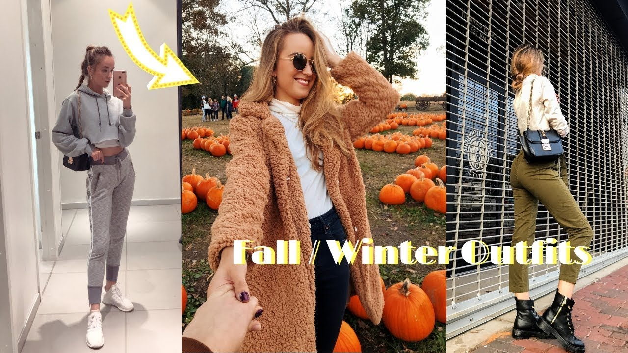 FALL + EARLY WINTER OUTFITS 2018 | School, Workwear, Going Out 9