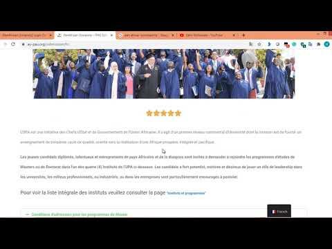 Qaabka Lo Xareysto PAN African Scholarship  How to apply PAN African Scholarship for Master and PHD