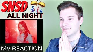 "Download Video Girls' Generation 소녀시대 ""All Night (Clean Ver.)"" MV Reaction 