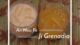 Haitian Recipes: Ji Grenadia   Haitian Passion Fruit Juice