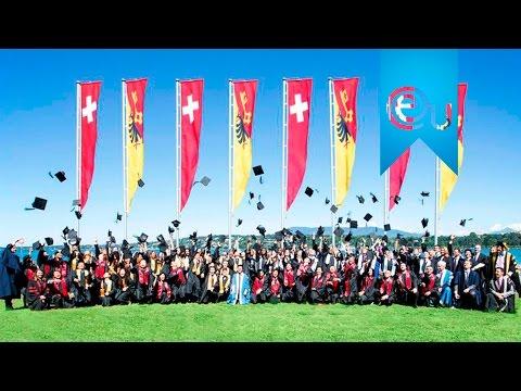EU Business School Graduation 2015 – International Business School, Geneva and Montreux, Switzerland
