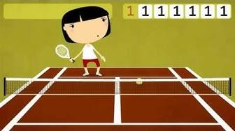 Wie spiele ich Tennis?