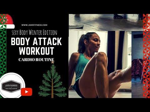 Cvičenie na chudnutie │ SexyBody Winter Edition │ 60 Minutes BodyAttack Workout │