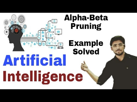 Alpha Beta pruning in artificial Intelligence in hindi | Solved Example | #21