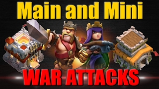 Clash of Clans | My TH11 and TH8 War Attacks