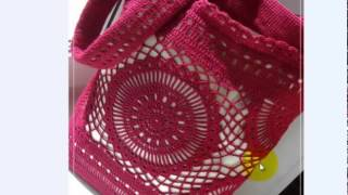 сумочка крючком handbags crochet schemes Вяжем с Людмилой Тен #ЛюдмилаТен