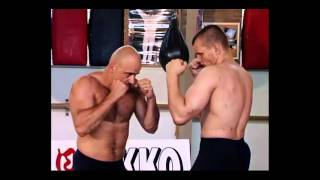 Bas Rutten - How to punch and kick (basic technique)