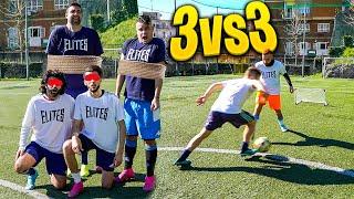 ⚽ 3 vs 3 FOOTBALL CHALLENGE con PENITENZE!