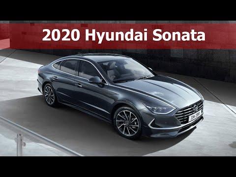 2020 Hyundai Sonata: Fresh Design, Larger Size
