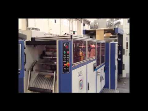 GP 38/76 F Satchel/Flat Type Paper Bag Machine