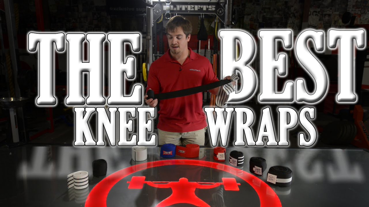 7993b4ed52 elitefts.com - The Best Knee Wraps on the Market - YouTube