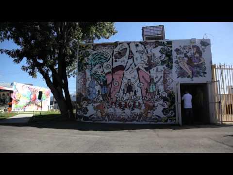 Wynwood Walls, Miami Art Basel 2011