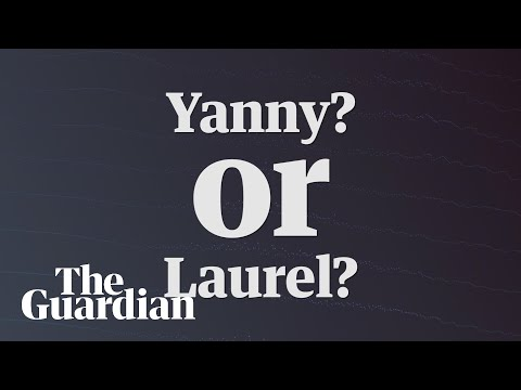 Yanny vs Laurel video: which name do you hear – audio