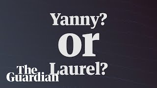 Yanny vs Laurel video: which name do you hear? - audio