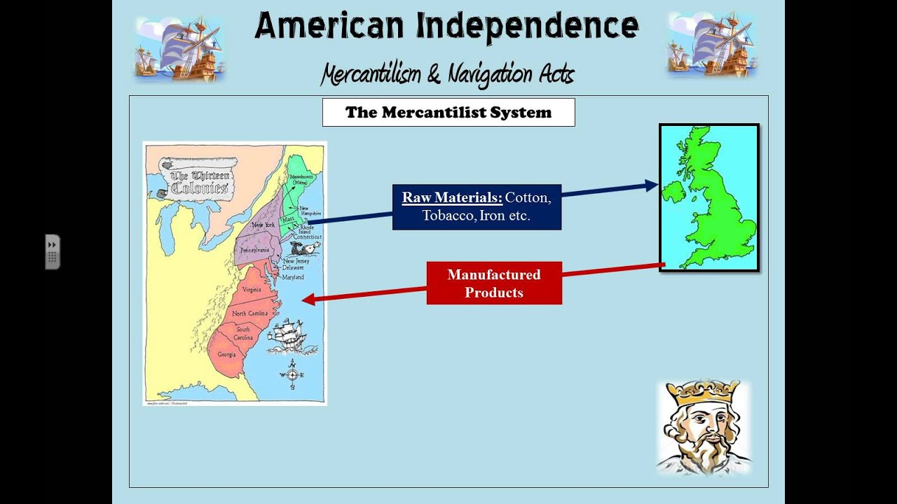 Mercantilism & Navigation Acts - YouTube