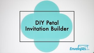 DIY Petal Invitation Builder