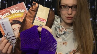 ASMR BINAURAL SCRATCHING OBJECTS & Other TINGLY Triggers