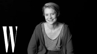 Mia Wasikowska on Alice in Wonderland, Jane Eyre, and In Treatment   Screen Tests   W Magazine