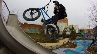 BMX AT THE AMUSEMENT PARK