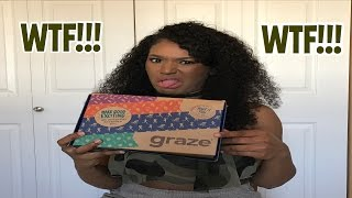 Graze Box Unboxing, They Messed Up!!!!!