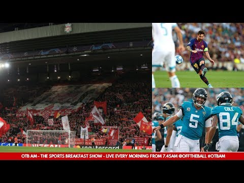 WATCH | Wednesday's #OTBAM - Liverpool and Messi Magic, GAA problems, McGregor, NFL |