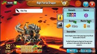 ✔️ Siêu Trâu Xinh Đẹp LV 32 Dragon City HNT chơi game Nông Trại Rồng HNT Channel New  439