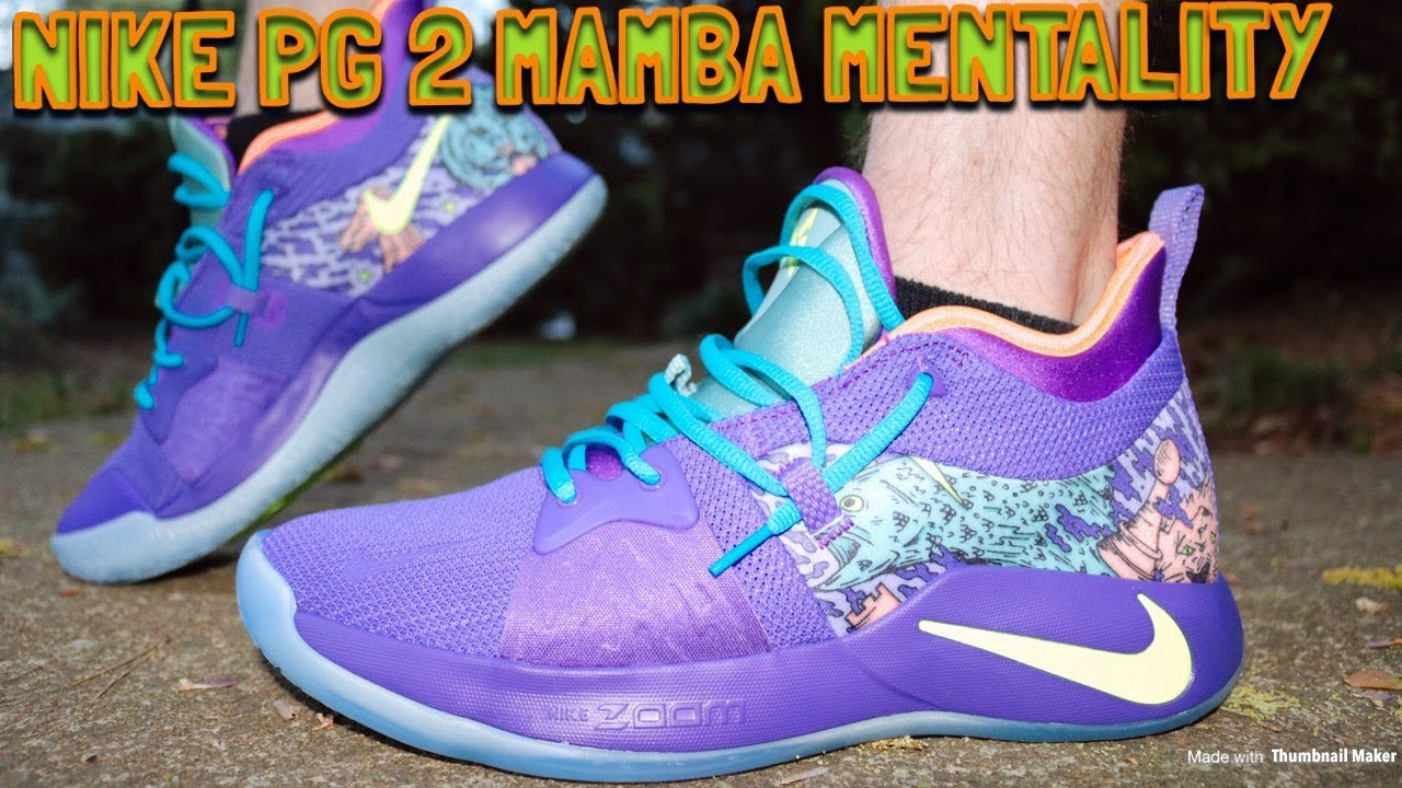 e0863e82e85 NIKE PG 2 MAMBA MENTALITY REVIEW   FIRE ON FEET!! - YouTube