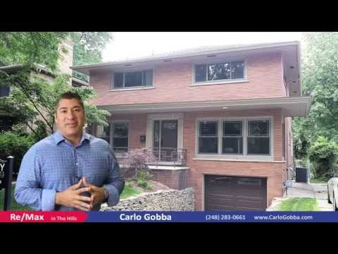 Carlo Gobba- RE/MAX \\  13346 Sherwood Dr. Huntington Woods MI