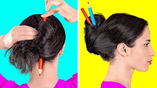 HAVALI SAÇ FİKİRLERİ || 123 GO!'dan Kolay Saç Önerileri Ve Kendin Yap Saç Yapma Taktikleri