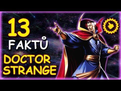 13 FAKTŮ: Doctor Strange