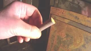 видео Чистка дымохода в бане