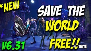 *NEW* Fortnite Save The World For FREE GLITCH! [WORKING DECEMBER 2018] Patch 6.30 + 6.31