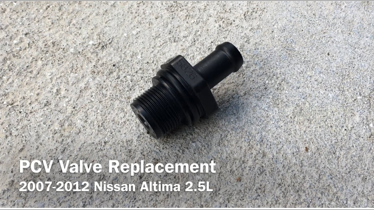 how to prevent engine valve cover gasket oil leak pcv valve and hoses replacement nissan altima [ 1280 x 720 Pixel ]